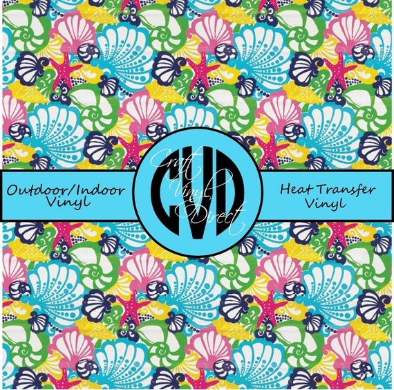Beautiful Patterned Vinyl // Patterned / Printed Vinyl // Outdoor and Heat Transfer Vinyl // Pattern 27