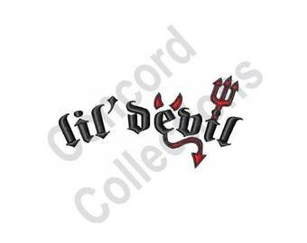 Lil' Devil - Machine Embroidery Design