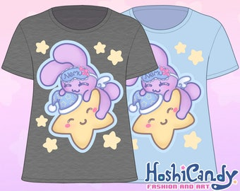 Sleepy Star Bunny T-Shirt