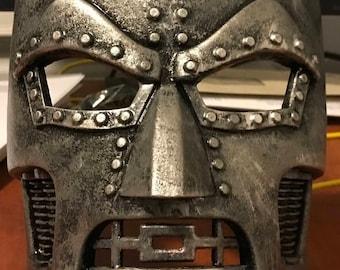 Doctor Doom Mask Marvel Comics Villain Cosplay
