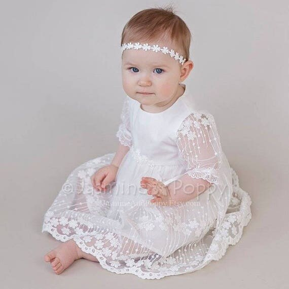 Christening Gowns From Wedding Dresses: Baby Girl Christening Dress Christening Gown Baptism Dress