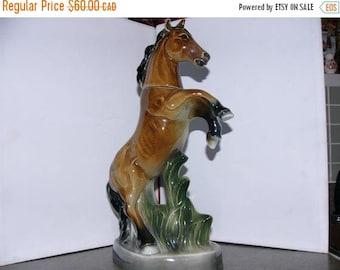 ON SALE Vintage Jim Beam Horse Decanter