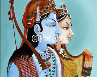 Lord Rama Divine art