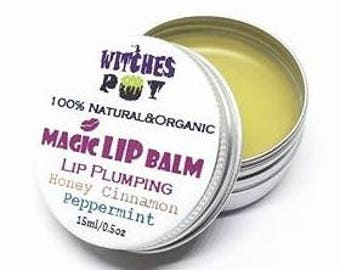 Natural Magic Lip Balm with Honey plumping effect*, Cinamon & Peppermint