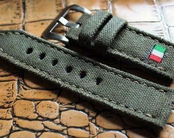Canvas strap 125/75  24/24  for Panerai