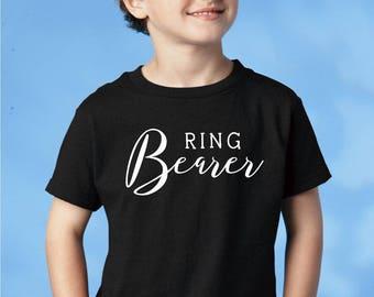 Ring Bearer Shirt, Ring Bearer Tshirt, Ring Bearer Gift, Ring Bearer Tee, Wedding Party Gift, Ring Bearer Hat