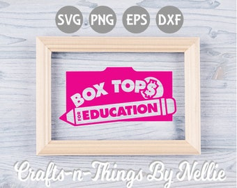 Box Top for Education SVG
