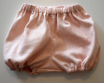 Baby Pink linen bloomers