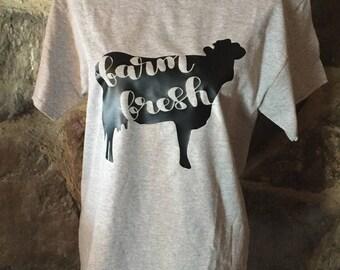 Farm Fresh Cow Shirt