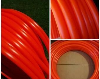 """UV Fire Orange 5/8"""" Polypro Hoop"""