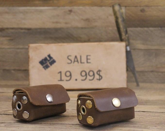 Sale!! Dog poop bag holder on SALE!! Leather poop bag holder ,Brown bag dispenser, Dog gift, Dog accessories, Dog Poop Mess Bag Dispenser.