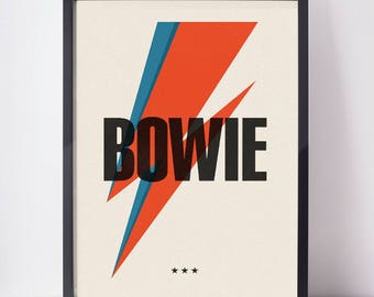 bowie | poster | a2
