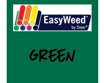 Siser EasyWeed Heat Transfer Vinyl - HTV - Green