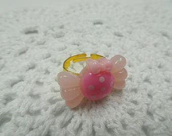 Pink Candy Ring