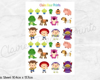 TOY STORY Planner Stickers - Classic sheet