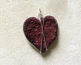 Wedding Keepsake Jewelry, Rose Petal Heart Pendant, Rose Petal Memory Jewelry, Jewelry Made From Rose Petals, Rose Jewelry