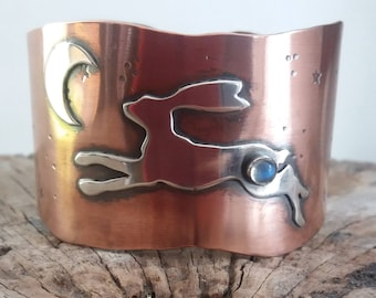 Leaping Hare Cuff