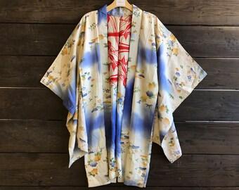 Vintage Japanese Silk Kimono