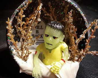 Zombie Halloween Tree Ornament