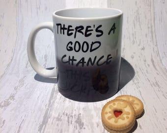 There's a good chance this is buckfast mug, scottish gift, scottish humour, scotland, humour, buckfast, funny mug, buckfast gift, Scottish,