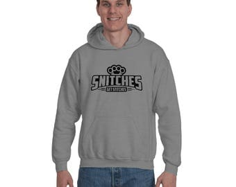 Snitches Get Stitches Funny Fighting tees for Boxing Lover Stitches Lovers Streetwear tees Snitches Hoodie Sweatshirt