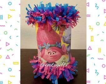Trolls Birthday - trolls mini pinata -   trolls Goody Bags - trolls Party - trolls - trolls party favors - trolls souvenirs - trolls favors