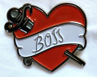 Rocky Horror Picture Show enamel pin Boss tattoo Dr. Frank-N-Furter