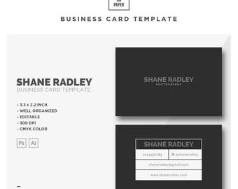 Shane Radley - Business Card No. 6