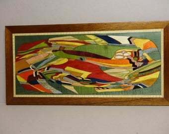 WAVE 2 MARQUETRY Panel 44 X 22