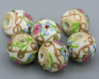 "Antique ""Wedding Cake"" Bead African Trade Bead"