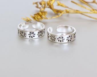Silver Toe Ring, Free Size Toe Ring,Toe Ring, Simple Toe Rings, Gift Item, Gypsy Style Toe Ring, Minimal Toe Band, (TS 57)