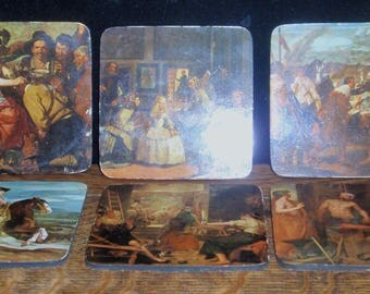 Pimpernel Celloware Medieval Coasters