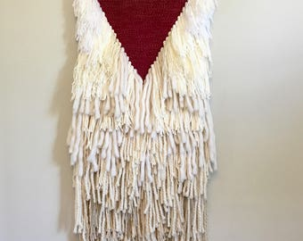 Dsiplacement Woven Wall Hanging // Weaving // Tapestry // Boho Style