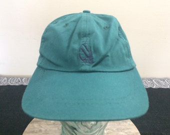 90's Nautica baseball cap vintage strapback hat 1990's sailing streetwear