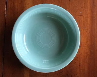 Fiesta by Homer Laughlin | Medium Bowl | Cereal/Soup | Retired Seamist Green