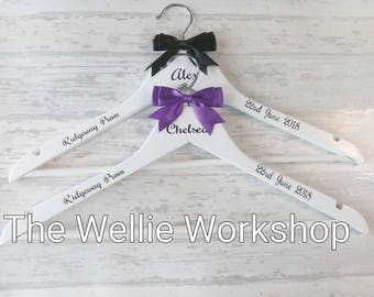Personalised Prom dress hanger,  Prom accessory, Special occasion dress