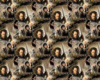 Lord of The Rings Return of the King Digitally Printed from Camelot Fabrics 23220102J-1 cotton fabric by yard metre quilting camelot lotr