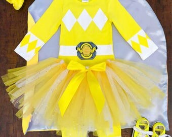 Yellow Power Ranger Costumes