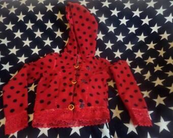 Ladybird fleece jacket