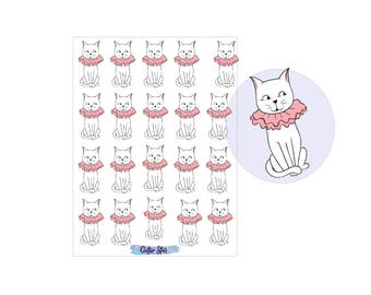 Stickers Kitten Cats Set 4
