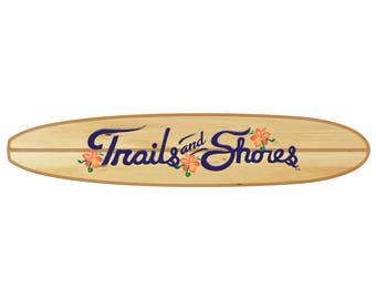 Surfboard Decal