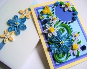 Anniversary Quilling cards,Beautiful Mom,Girlfriend,Sister Birthday card,Happy Birthday Card 30th,40th,50th,60th,70th,80th,90th... Birthday,