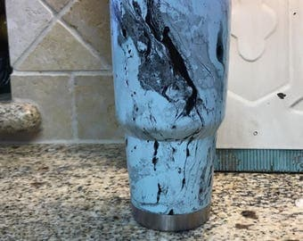 Dipped yeti cup