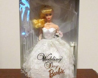 Vintage Mattel Barbie Doll - Wedding Day Blonde Barbie - 1996 - #17119 NIB