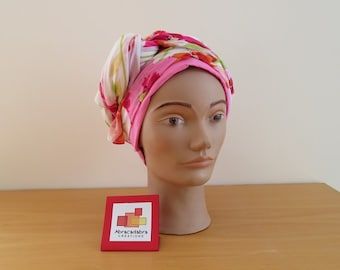 Hat CHEMO scarf floral summer