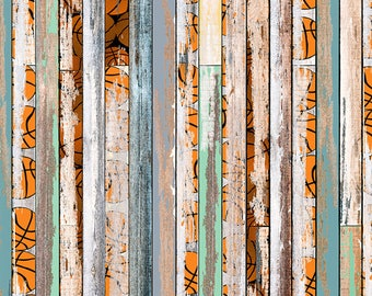 Distressed Basketball Photography Planks (FD-VS-067)