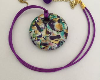 CHUNKY Mardi Gras Necklace!