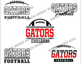 Gators Football Bundle Download Files - SVG, DXF, EPS, Silhouette Studio, Vinyl  Files, Digital Cut Files -Use with Cricut and Silhouette