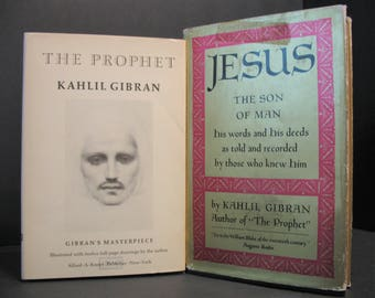 Kahlil Gibran - The Prophet AND Jesus, The Son of Man