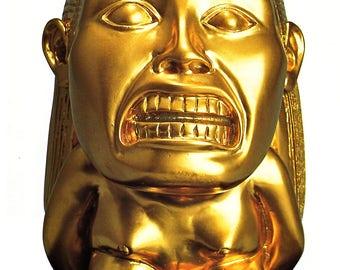 Indiana Jones Raiders  Lost Ark Aztec Fertility Idol Prop Replica 1:1 unpaid
